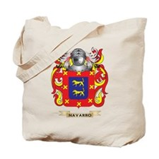 Navarro Coat of Arms (Family Crest) Tote Bag
