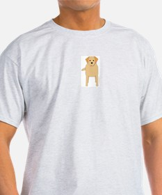 Retriever! Ash Grey T-Shirt