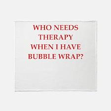 BUBBLE Throw Blanket