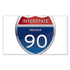 Indiana Interstate 90 Decal