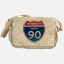 Indiana Interstate 90 Messenger Bag