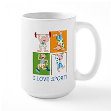 I Love Sport Mug