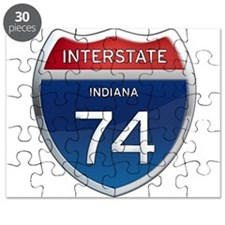 Indiana Interstate 74 Puzzle