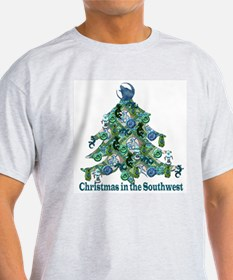 Christmas in the Southwest Ash Grey T-Shirt