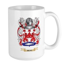 Neal Coat of Arms (Family Crest) Mugs