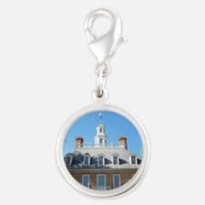GOVERNORS PALACE COLONIAL WILL Silver Round Charm