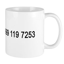 IT Crowd Emergency Services Small Mug
