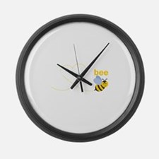 Gramps To Bee Large Wall Clock