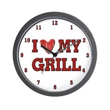 I love my Grill Wall Clock