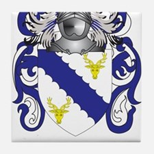Needham Coat of Arms (Family Crest) Tile Coaster