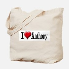 I Love (Heart) Anthony Tote Bag