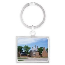 GOVORNORS PALACE COLONIAL WILLI Landscape Keychain