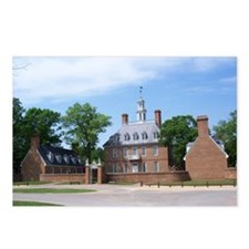 GOVORNORS PALACE COLONIAL Postcards (Package of 8)
