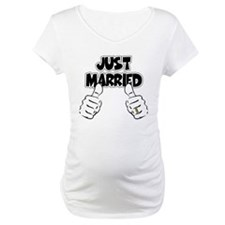 Just Married Thumbs Up Shirt
