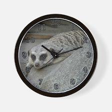 """""""Meerkat"""" Wall Clock"""