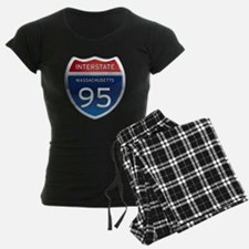 Massachusetts Interstate 95 Pajamas