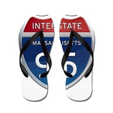 Massachusetts Interstate 95 Flip Flops