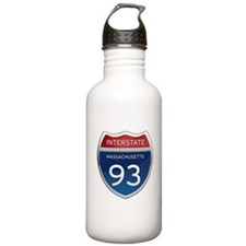 Massachusetts Interstate 93 Water Bottle