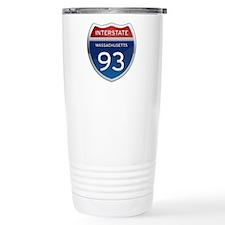 Massachusetts Interstate 93 Travel Mug