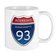 Massachusetts Interstate 93 Mugs