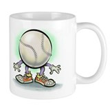 Softball coffee mug Coffee Mugs