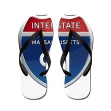 Massachusetts Interstate 91 Flip Flops