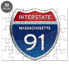 Massachusetts Interstate 91 Puzzle