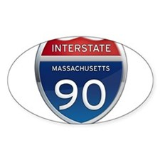 Massachusetts Interstate 90 Decal