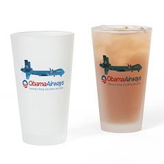 Obama Airways Drinking Glass