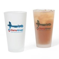 Obama Airways Drinking Glass