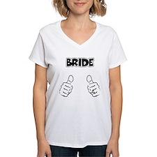 Bride Thumbs Up Shirt