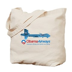Obama Airways Tote Bag