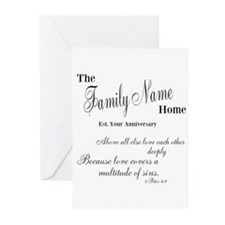 1 Peter 4:8 Greeting Cards (Pk of 20)