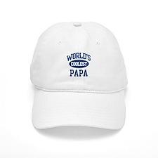 Coolest Papa Baseball Cap