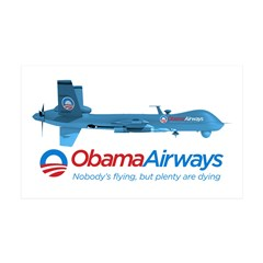 Obama Airways Wall Decal