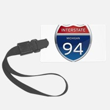 Michigan Interstate 94 Luggage Tag