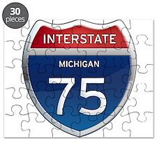 Michigan Interstate 75 Puzzle