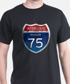 Michigan Interstate 75 T-Shirt