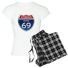 Michigan Interstate 69 Pajamas