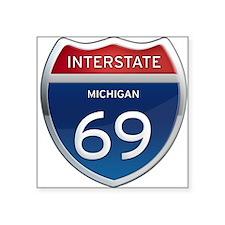 Michigan Interstate 69 Sticker