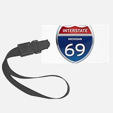 Michigan Interstate 69 Luggage Tag