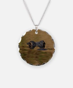 Alligator Reflections Necklace