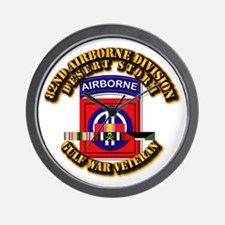 Army - DS - 82nd ABN DIV w SVC Wall Clock