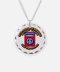 Army - DS - 82nd ABN DIV - DS Necklace