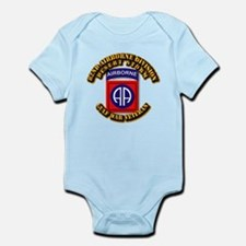 Army - DS - 82nd ABN DIV - DS Infant Bodysuit