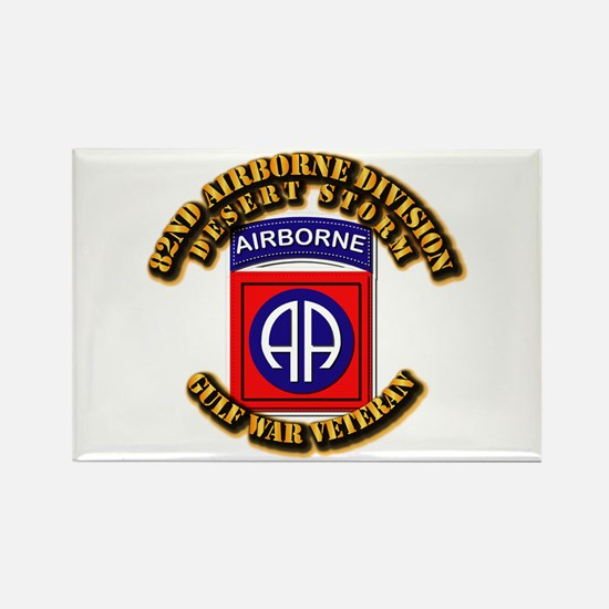 Army - DS - 82nd ABN DIV - DS Rectangle Magnet (10