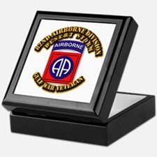 Army - DS - 82nd ABN DIV - DS Keepsake Box