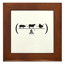 Meatfest Framed Tile