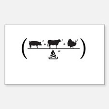 Meatfest Decal