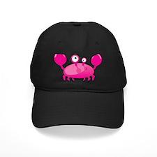 Pink Funny Crab Baseball Hat